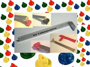EDELSTAHL Schlüssel PRO zu QUADRO + MOVEANDSTIC passend statt 30665 oder 00680