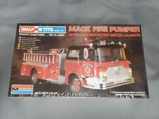 Monogram #1213 Mack Fire Pumper with cab mounted water cannon. Sealed. 1/32nd
