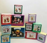 Hallmark Merry Minatures Figurines Collectible LOT of 11 Vintage 1996 Story Time