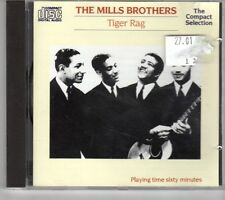 (GM200) The Mills Brothers, Tiger Rag - 1987 CD