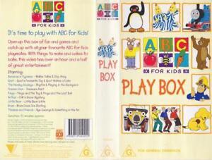 ABC PLAYBOX A RARE FIND ~ VIDEO PAL VHS