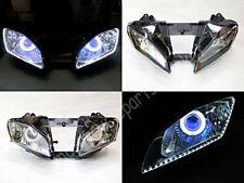 Angel Eye HID Projector Demon Eye Headlight Assembly for Yamaha YZF R6 2008-2015