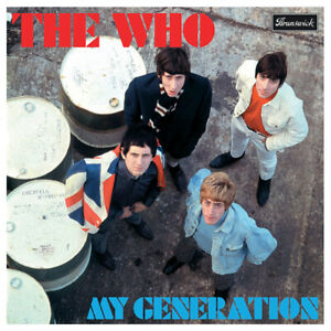 THE WHO - 'My Generation' Album Cover - Poster Wall Art Reproduction