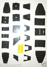 LEGO Black Specialty Plate 2625  60219 43713 4854 Turn Table 47753 set 4483 7783