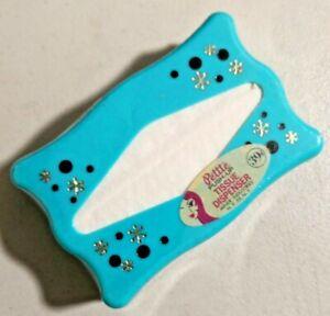 VINTAGE 1960s Petite Push-Up TISSUE Plastic DISPENSER NOS Rare -- 3497