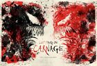 Venom - Let There Be Carnage NE] DECAL Poster Spider-Man Movie Film 2021 Print