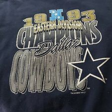 Old, Vintage Dallas Cowboys XXL 1993 Dallas Cowboys Eastern Division...