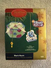 NEW - 2005 - HALLMARK HEIRLOOM ORNAMENT - BLUE'S ROOM - IN KEY BOX - GREAT GIFT!