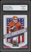 TREVOR LAWRENCE 2021 LEAF DRAFT ALL-AMERICAN 1ST GRADED 10 ROOKIE CARD CLEMSON