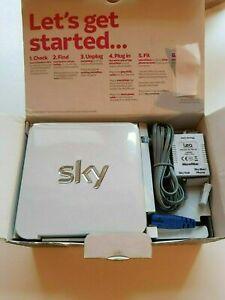 SKY HUB ROUTER SR101-Z BROADBAND INTERNET HUB WHITE - FAST & FREE POST