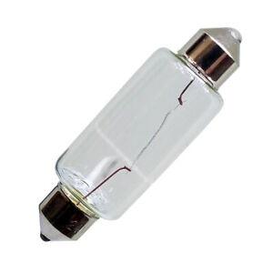 Festoon Bulbs (2) For IDEAL Guillotine Cutting Light - Models 4810, 4850, 5221