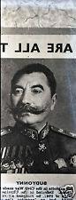 photo ancienne .plaque de verre négatif. Semion Boudienny . Sovietique . URSS