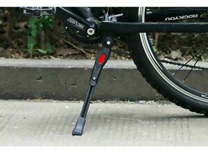 Adjustable MTB Bike Bicycle Cycle Middle Prop KickStands Leg Brace Side Support