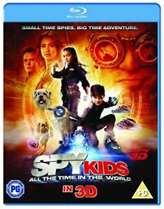 Spy Kids 4: All The Time In The World (Blu-ray 3D) [DVD][Region 2]