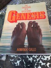 GENESIS THE EVOLUTION OF A ROCK BAND ARMANDO GALLO 1978 UK 1st PRESS EDITION