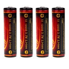 TrustFire 4x hochwertige geschuetzt PCB 18650 3,7V 3000mAh Akku L1B4 C2B3