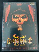 RARE Diablo II for Brazil (Brasil) PC CD-ROMS 3 Discs MINT CONDITION