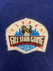 1994 NHL All Star Game Madison Square Garden New York Patch Size 3 x 3.5 inches