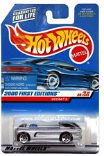 2000 Hot Wheels #65 First Edition Deora II with HW logo sticker warning