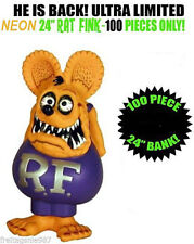 RAT FINK 60cm `Neon´ version Funko