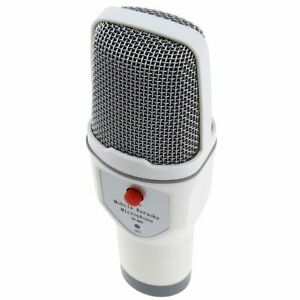 Mobile Phone Karaoke Recording Condenser Microphone, Professional Live Chat Mic