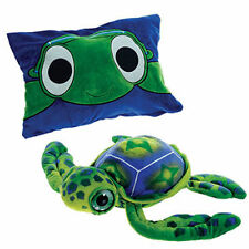 "Pillow 18"" Reversible Turtle Peek-A-Boo Plush Cuddle Travel Buddy Age 3+ New"