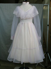 Victorian Dress Edwardian Costume Civil War Reenactment Style Girl Small Woman