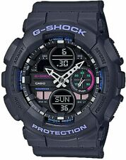 Casio G-Shock S-Series Grey Resin Strap Women's Watch GMAS140-8A / GMAS-140-8A
