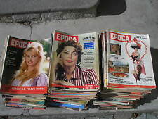 EPOCA  ANNATA 1959 LOTTO 29 RIVISTE SOPHIA LOREN AVA GARDNER INGRID BERGMAN
