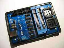 ISP ADAPTER 2 -  USB AVR STK500v2 / AVR910 ISP PROGRAMMER WITH ZIF SOCKET