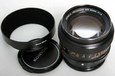 Konica Hexanon AR 50mm f1.4 Normal Lens