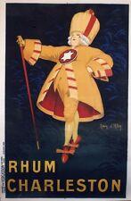 """RHUM CHARLESTON"" Affiche originale entoilée Litho Jean d'YLEN 1923 134x203cm"