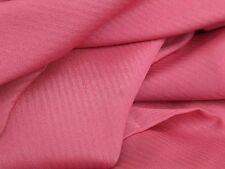 NEW ROSE PINK POLY-SILK Look Light Weight SOLID Fabric or LINING 2 1/8 yds x 44""