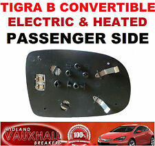 TIGRA B CONVERTIBLE ELECTRIC HEATED WING MIRROR GLASS PASSENGER NEAR LEFT SIDE