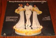 TONY ORLANDO & DAWN Greatest Hits ORIGINAL VINYL LP