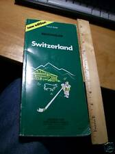Vintage Book : Michelin Green Guide to Switzerland (1982)
