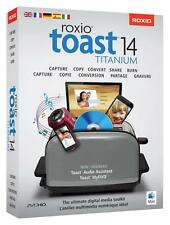 NEW Roxio Toast 14 Titanium Digital Media Toolkit Video Editing MAC OS
