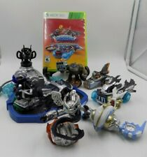 Xbox 360 Skylanders SuperCharger Game with Portal 4 Figures 4 Vehicles