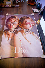 DIOR SPLIT  4x6 ft Bus Shelter Original Fashion Advertising Poster 2016