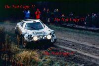 Markku Alen Lancia Stratos HF RAC Rally 1979 Photograph 1