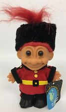 Vintage 80's Russ My Lucky Troll From England Around The World Guard Soldier