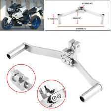 Universal Motorcycle Welding Aluminum Alloy Double-headed Gear Shift Lever Parts