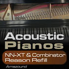 40 ACOUSTIC PIANOS REASON REFILL for COMBINATOR & NNXT 1100+ SAMPLES DOWNLOAD