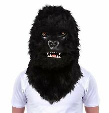 MR GORILLA MASK Moving Mouth HEAD Mask Plush King Kong THUMBS UP