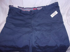 """Izod Cadet Navy 42"""" Mens shorts 8"""" Inseam 4 Pocket Cotton"""