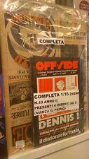 OFF.SIDE ANNO 1 COMPLETA 1/16(MENO N. 10) + 4 INSERTI SU 5