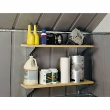 Arrow Shed SS404 Shelf Bracket System Gray