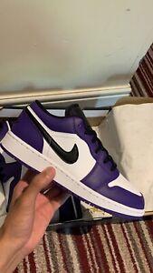 Jorfan 1 Court Purple Low Uk6 Eu40 In Hand