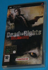 Dead to Rights Reckoning - Sony PSP - PAL