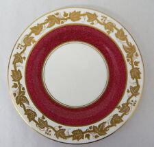 Wedgwood Bone China Powder Ruby Bread Plate Whitehall W3994 Made In England